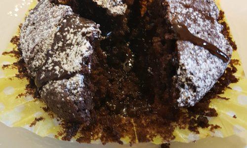 Ricetta muffin al cioccolato con cuore fondente