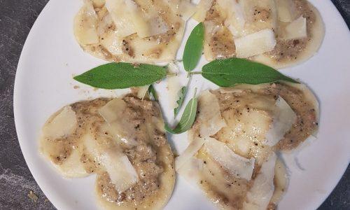 cuori al tartufo nero (vegetariano )